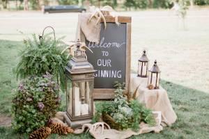 Welcome зона на свадьбу